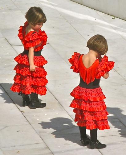 nenas flamenco