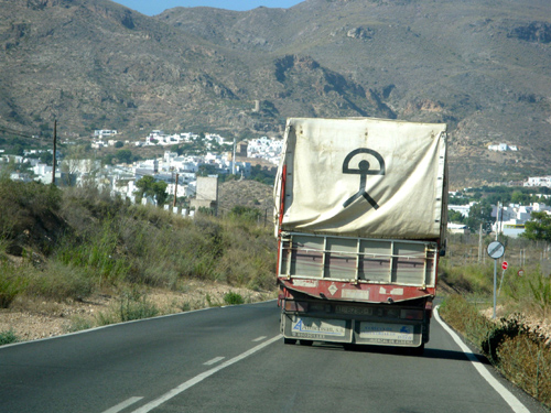truck in nijar
