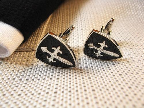 Safety jewellery cufflinks