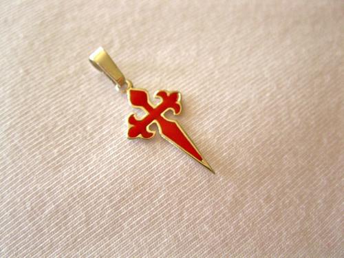 Cross of St james pendant