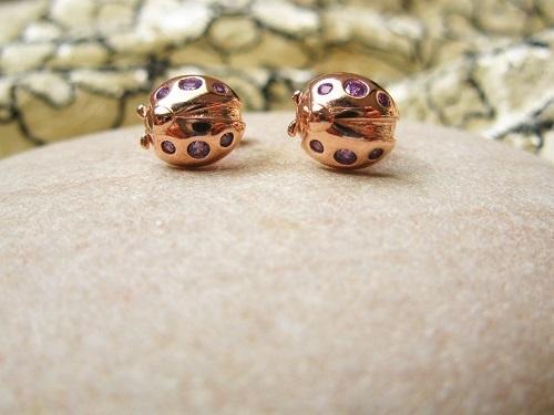 Ladybird studs