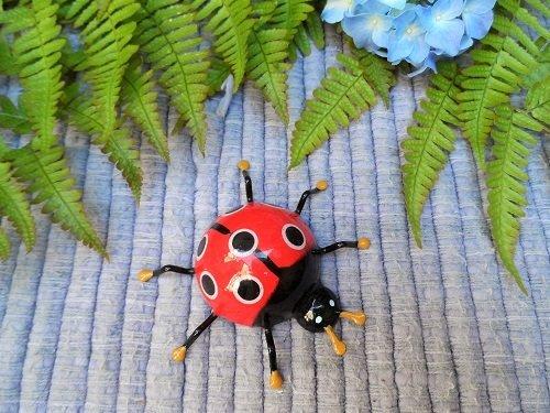 Lucky Ladybug fridge magnet