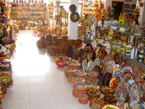 Some of our Spanish pottery