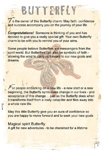 Butterfly luck info