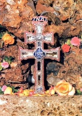Caravaca cross in Murcia