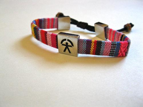 Indalo bracelet woven