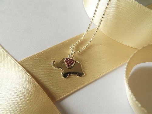 Lucky elephant necklaces