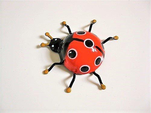 Lucky ladybird fridge magnet