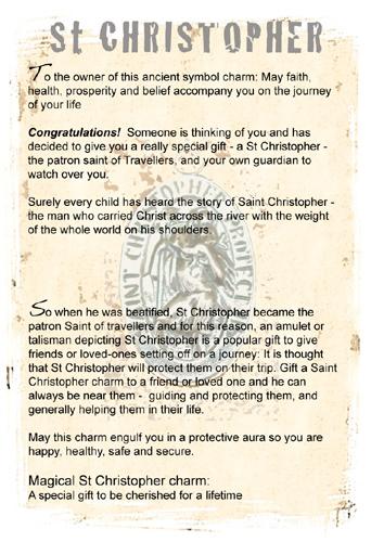 Saint Christopher information