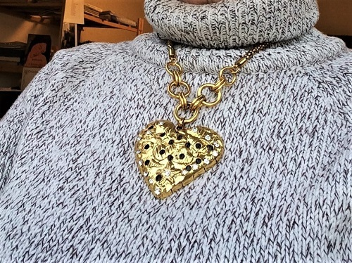 Say it with a chunky heart