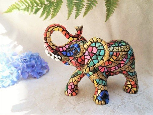 Spanish ceramic lucky elephant