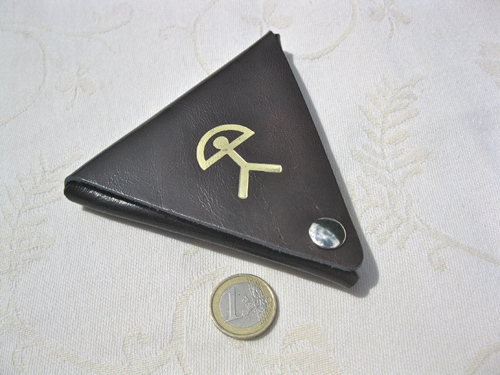 Spanish leather Indalo purse