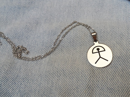 Steel Indalo necklace