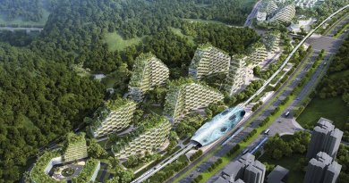 "China Has Officially Started Construction on The World's First ""Forest City"