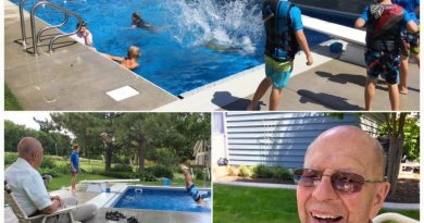 94-Year-Old Builds Backyard Pools and Invites Neighborhood Kids to Help Overcome His Loneliness After Wife's Death