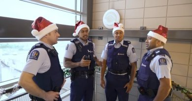 New Zealand Police Go Viral Singing 'Silent Night' And Other Christmas Carols