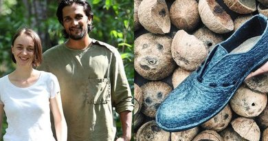 'Malai' — A Sustainable Fashion Label Using Coconut Waste To Make Vegan Leather