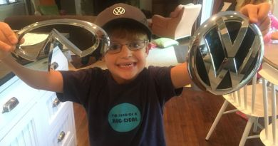 This Kid Asked Each Car Company To Send Him A Decal. He Got More Than That. Way To Go, Car Companies.