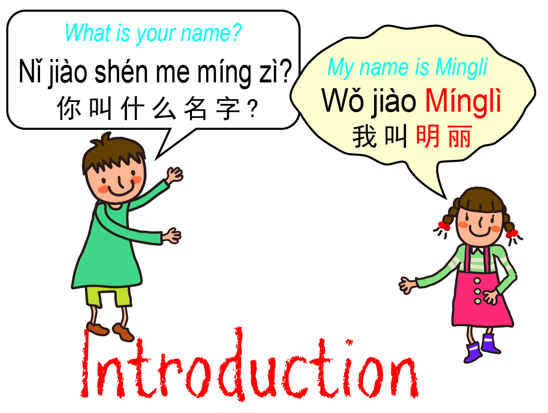 Introducing Yourself In Chinese Mandarin