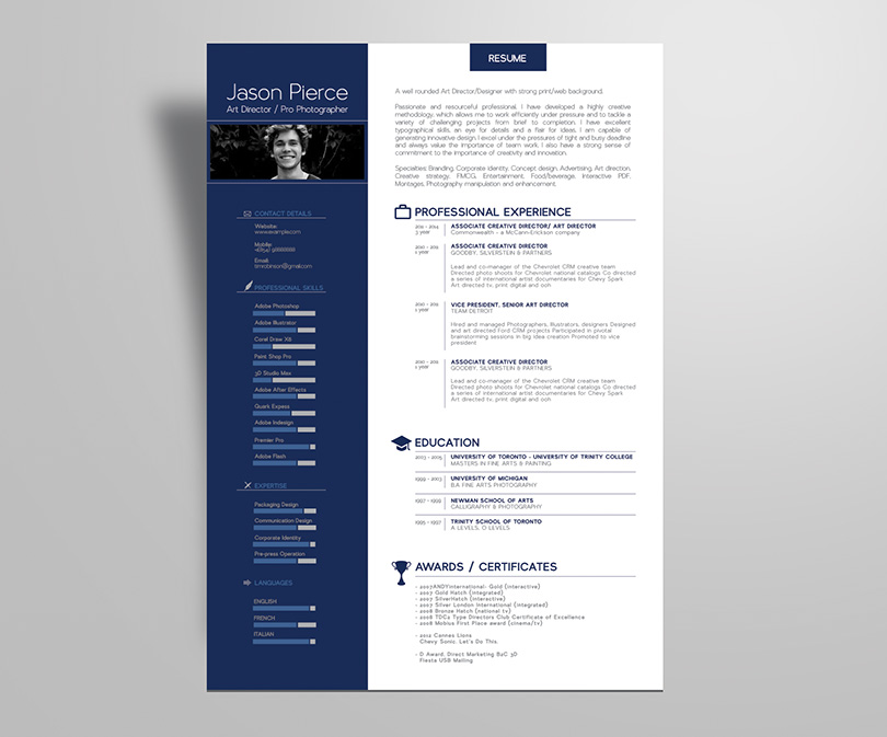 Simple Premium Resume  CV  Design  Cover Letter Template  4 PSD Mock     Simple Premium Resume  CV  Design  Cover Letter Template  4 PSD Mock Ups    100 Resume Icons   Good Resume