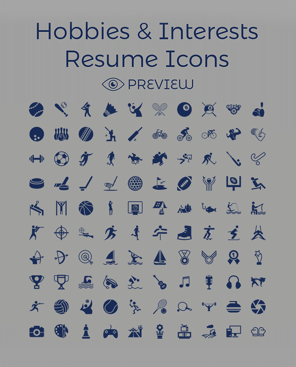 Creative Resume CV Design Cover Letter Template 4 PSD Mock Ups Amp 100 Resume Icons Good Resume