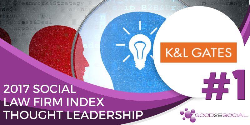 Social Law Firm Index 2017 K&L Gates