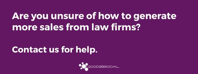 twitter for legal vendors