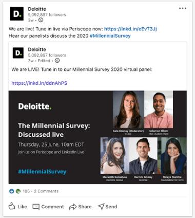 Deloitte on LinkedIn