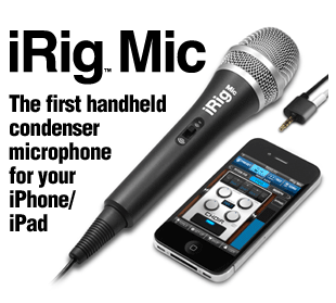 iPad Microphone iRig