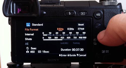 Sony NEX6 timelapse 2