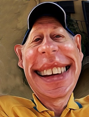 Caricature David Allen Wizardgold