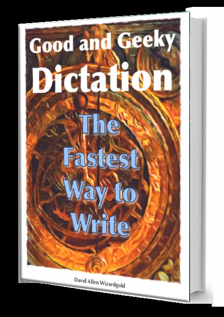 Book visual - Dictation