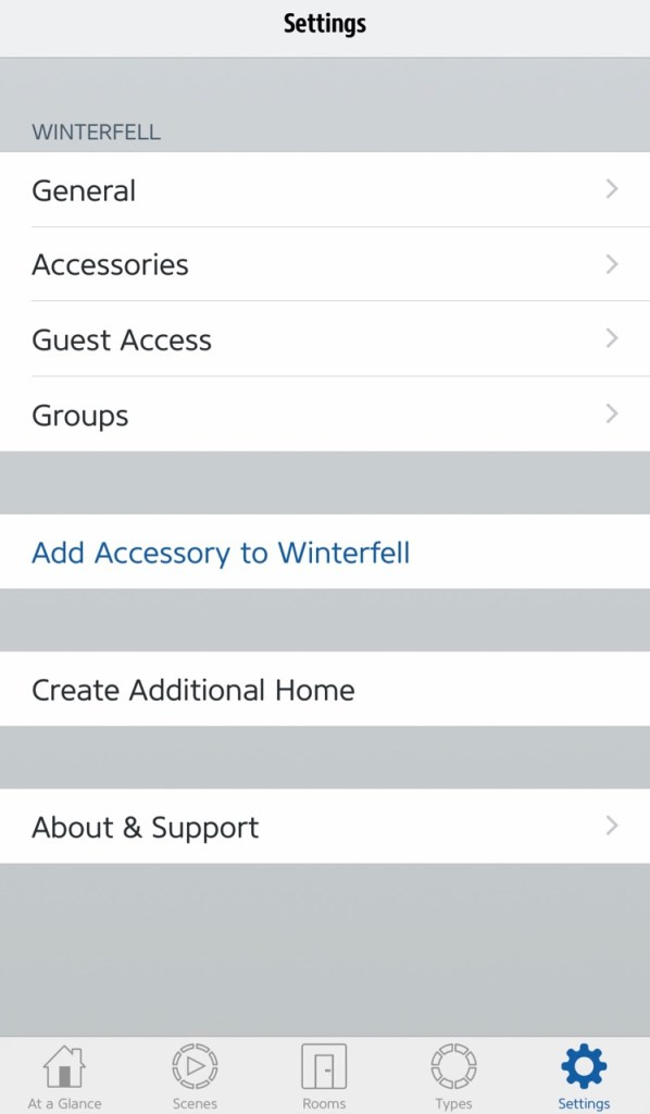 set up homekit accessories