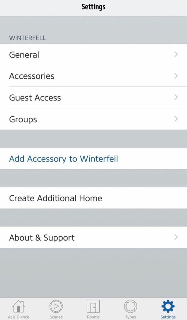 set up homekit accessories
