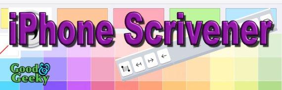 iPhone Scrivener