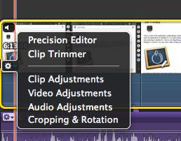 IMovie audio enhancement