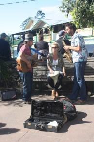 Música no centro de Nimbin