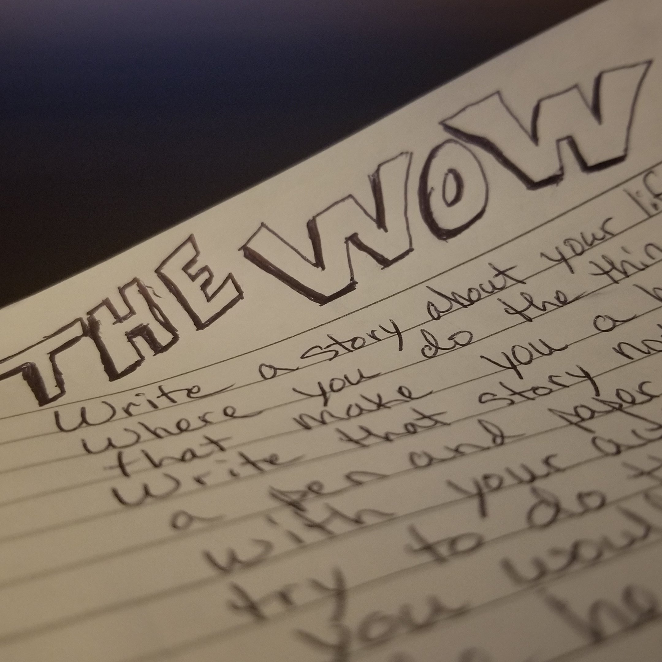 The WOW – The Changing Your Story Workout