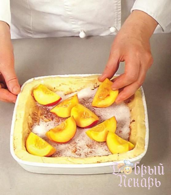 Быстрый летний пирог приготовление 5