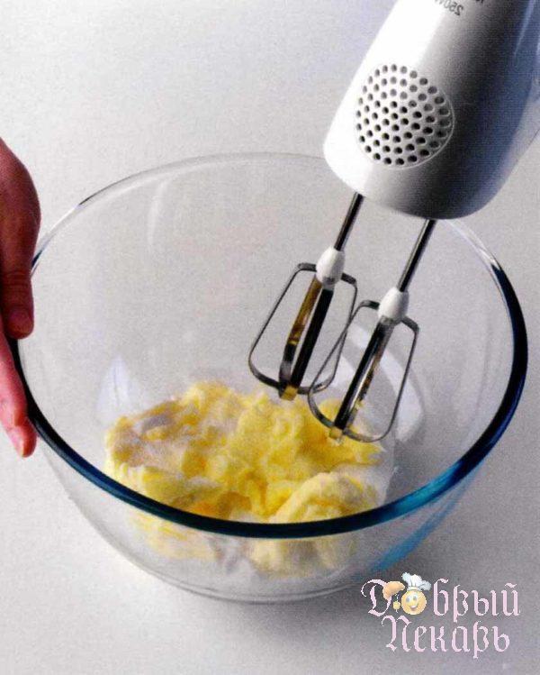 Ванильные кексы с кремом приготовление