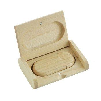 8 gb houten usb