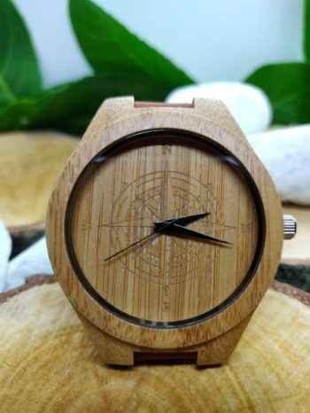 Red Kite bamboo wooden watch