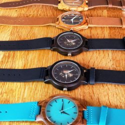 Birds of Prey Bamboo Watches