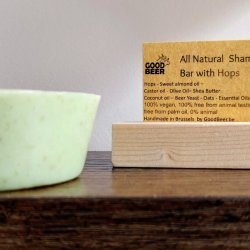 Solid Shampoo bar with beer yeast