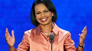 Former Secretary of State Condoleeza Rice
