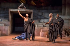 The world-renowned Royal Shakespeare Company returns to BAM with a new twist on Shakespeare's Julius Caesar. Set in present-day Africa and featuring an all-black cast, this visionary production echoes recent regime struggles throughout the continent. The