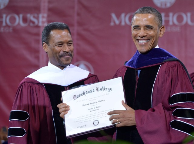 Obama at Morehouse
