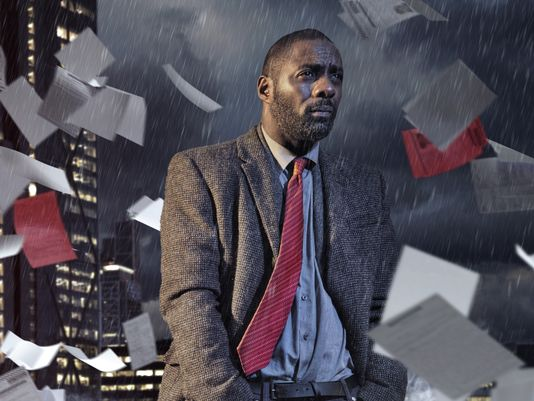 "Idris Elba as ""Luther"""
