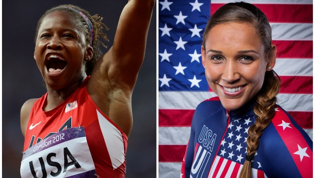 Olympic Bobsled Team Members Lauryn Williams and Lolo Jones