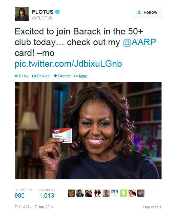michelle obama-aarp